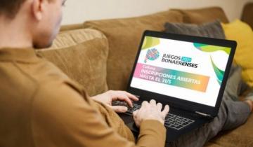 Imagen de Extienden hasta el 7 de junio el período de inscripción a los Juegos Bonaerenses