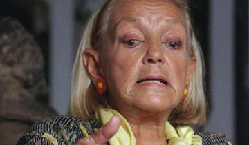 Imagen de A los 93 años, murió la actriz Elena Cruz
