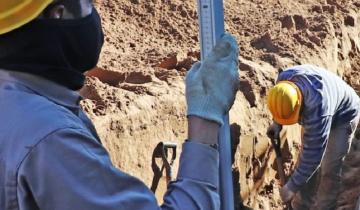 Imagen de La Costa: avanzan las obras de ampliación de la red cloacal en Mar del Tuyú