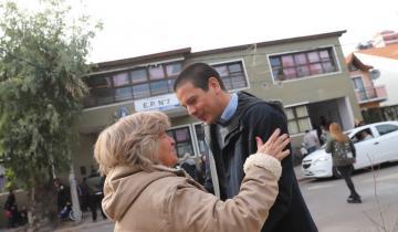 Imagen de Esta mañana Cardozo agradeció en las redes: saludos de un sector de la oposición tras hacer historia