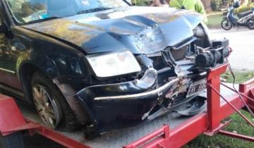 Imagen de General Madariaga: un menor de edad protagonizó un fuerte accidente de tránsito
