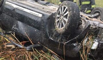 Imagen de Un herido tras un accidente en la Ruta 74