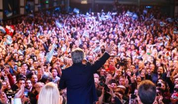 Imagen de Las frases más salientes del discurso de Alberto Fernández tras la victoria