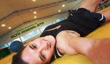 Imagen de Tras entrenarse durante 5 semanas en Santa Teresita, Paula Pareto está lista para volver a competir