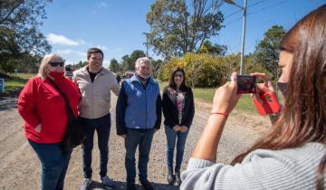 Imagen de Por dónde continúa el Plan Integral de Asfalto y luminaria LED en las localidades del Partido de La Costa