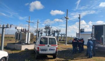 Imagen de EDEA inauguró una nueva estación transformadora en General Lavalle