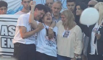 """Imagen de La mamá de Fernando en el Congreso: """"Él era mi vida, quiero justicia"""""""