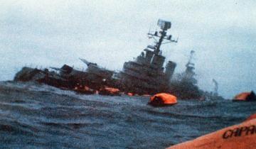 Imagen de Hoy se cumplen 39 años del hundimiento del Crucero General Belgrano