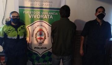 Imagen de Lo detuvieron por violar la cuarentena en Mar Chiquita: tenía antecedentes en otros países
