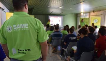 Imagen de Lezama: el municipio busca incorporar el SAME a la localidad