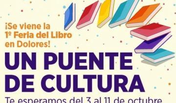 """Imagen de Dolores: cómo será la 1ª Feria del Libro """"Un puente de Cultura"""""""