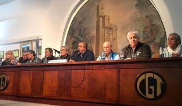 Imagen de La CGT criticó duro al Gobierno y le exige medidas para cambiar el rumbo económico
