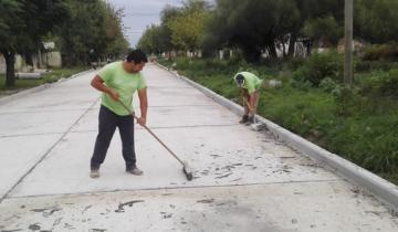 Imagen de Dolores con más pavimento: inauguran más cuadras con nuevo asfalto