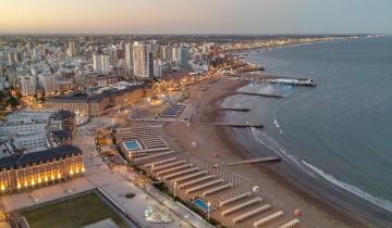 Imagen de Una mujer murió en una playa de La Perla, en Mar del Plata