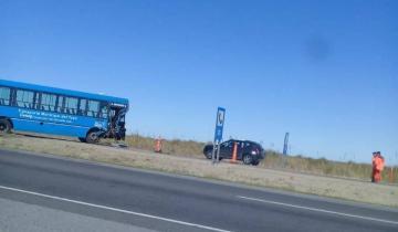 Imagen de Ruta 11: Siete heridos tras un choque en cadena