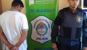 Imagen de Detienen a delincuente geselino tras raid delictivo en Cariló
