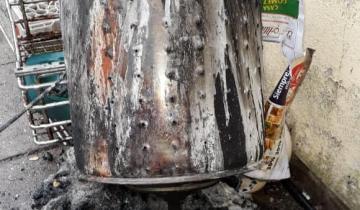 Imagen de Dolores: principio de incendio en una vivienda