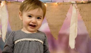 Imagen de Eloísa, la beba dolorense internada en La Plata, ya tiene la medicación que necesitaba