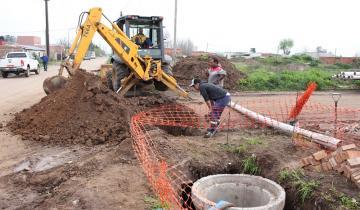 Imagen de Se instala una estación de bombeo para red cloacal en Dolores