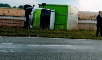 Imagen de Un herido de consideración tras un accidente en la Ruta 56