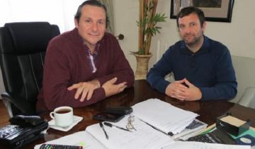Imagen de Etchevarren nombró a Gastón Garófalo al frente de la Secretaría de Deportes