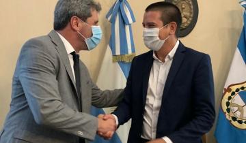 Imagen de Cristian Cardozo fue recibido por el gobernador de San Juan y avanzaron en proyectos de turismo, ambiente y producción