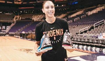 Imagen de Quién es Diana Taurasi y por qué homenajeó a Eva Perón en la WNBA