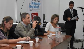 Imagen de La Defensoría del Pueblo bonaerense presentó el primer Congreso sobre Lenguaje Inclusivo