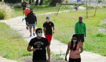 Imagen de Dan marcha atrás en Lezama con la realización de las caminatas recreativas