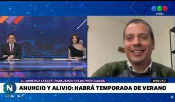 Imagen de Hay temporada de verano: Cardozo y Lammens hablaron en Telefé Noticias y confirmaron todo