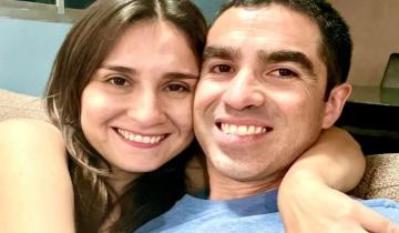 Imagen de Después de un año, dos meses y catorce días el veterinario de Santa Teresita se reencontró con su esposa