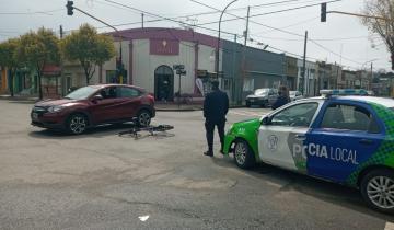 Imagen de Un herido tras un fuerte accidente en Dolores