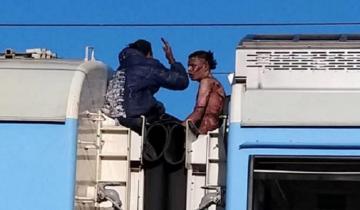 Imagen de Murió uno de los jóvenes electrocutados en el tren que iba de Mar del Plata a Buenos Aires