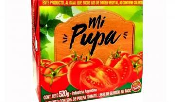 """Imagen de La ANMAT prohibió la venta de un """"falso"""" puré de tomate"""