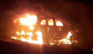 Imagen de Horror en la Ruta 3: cinco personas murieron calcinadas en un accidente