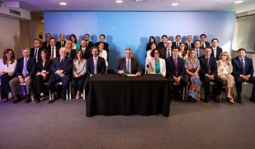Imagen de A cuatro días de asumir, Alberto Fernández anunció su Gabinete