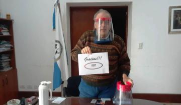 Imagen de General Lavalle: el municipio recibió una donación de máscaras de protección facial total
