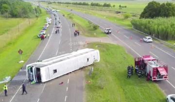 Imagen de Accidente en la Ruta 2: tres alumnos y una docente se encuentran en grave estado