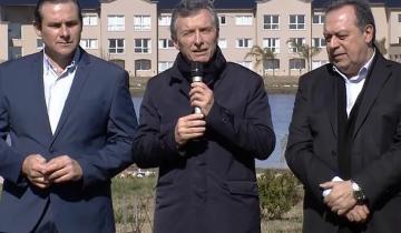 """Imagen de """"Nunca más la corrupción en la Argentina"""", dijo Macri en la reapertura del Parque Termal"""