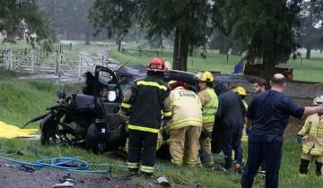 Imagen de Viajaban a ver a Boca y murieron en un accidente