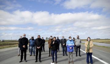 Imagen de Corredor Atlántico: Axel Kicillof confirmó que la obra de la Ruta 11 estará terminada en octubre desde General Conesa hasta Mar de Ajó