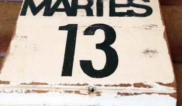 Imagen de Martes 13: por qué es considerado un día de mala suerte