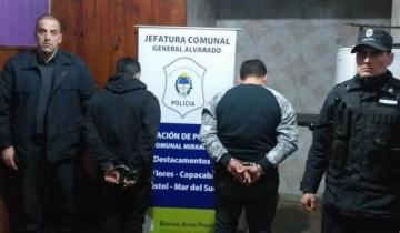 Imagen de Detienen a dos marplatenses por el asalto a una casa en Miramar
