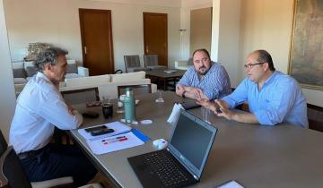 Imagen de Héctor Olivera se reunió con el Ministro de Obras Públicas de la Nación