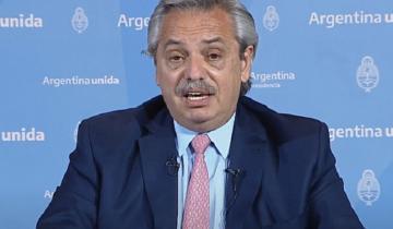 Imagen de Coronavirus en Argentina: Alberto Fernández anunció la extensión de la cuarentena hasta el 25 de octubre