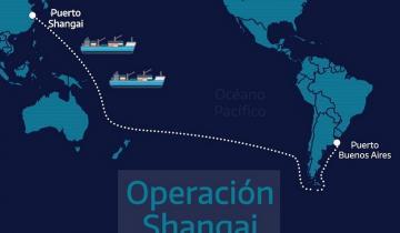 Imagen de Operación Shangai: tres barcos traerán cerca de 7 millones de insumos para la Provincia