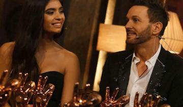 Imagen de Así acompañó Axel a Amorina durante la gala final de La Voz Argentina
