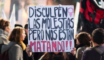 Imagen de Camila Tarocco, una de las 13 mujeres asesinadas durante la cuarentena