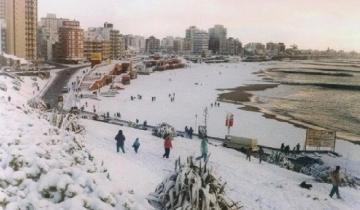 Imagen de Pronostican que esta semana podría nevar en Mar del Plata y la región