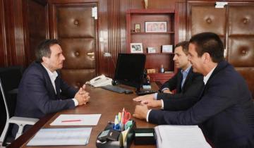 Imagen de Cardozo se reunió con el ministro Juan Cabandié